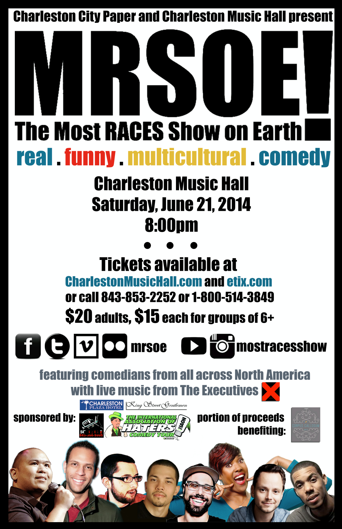 MRSOE! @ The Charleston Music Hall - June 21, 2014 - 8pm