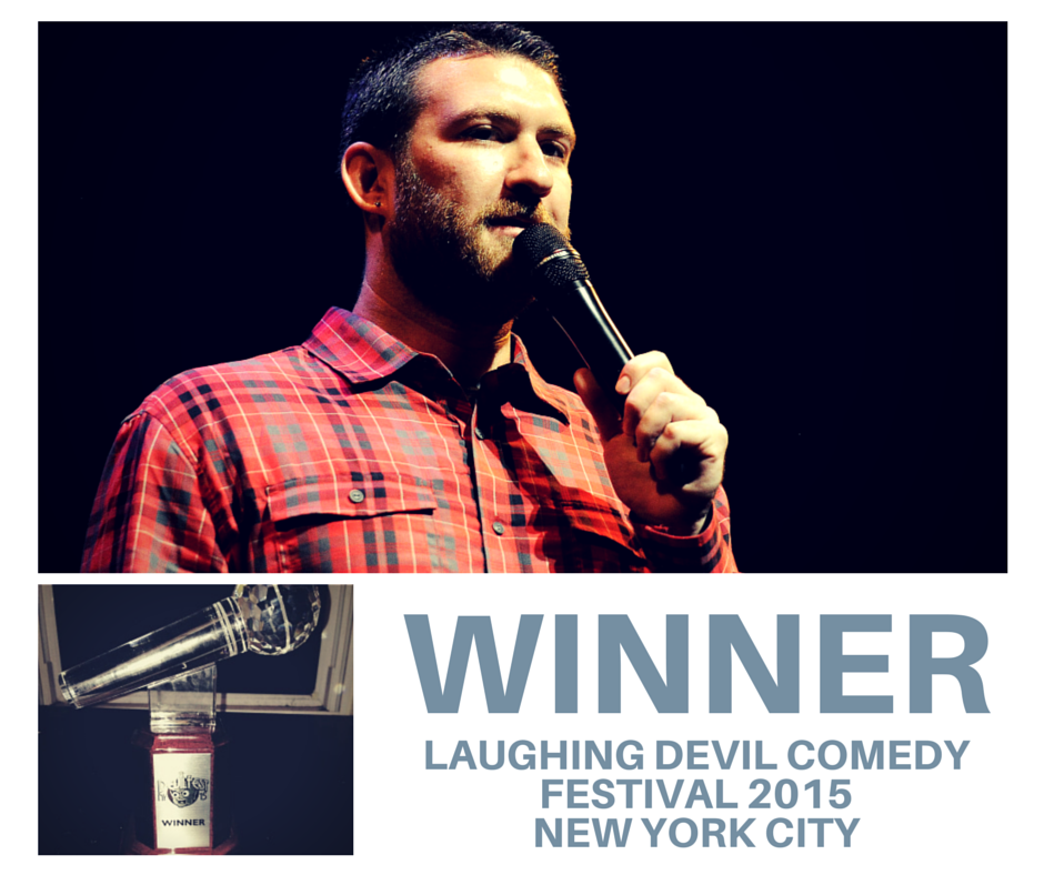 Noah Gardenwartz - Wins the Laughing Devil Comedy Festival 2015