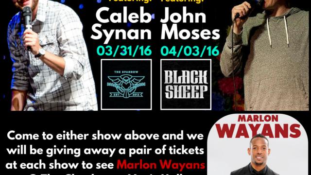 Ticket Giveaway Marlon Wayans