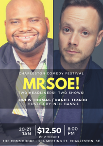 MRSOE! Charleston Comedy Festival 2017