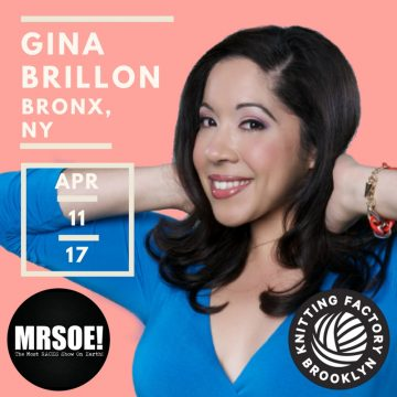 3 Questions with Gina Brillon