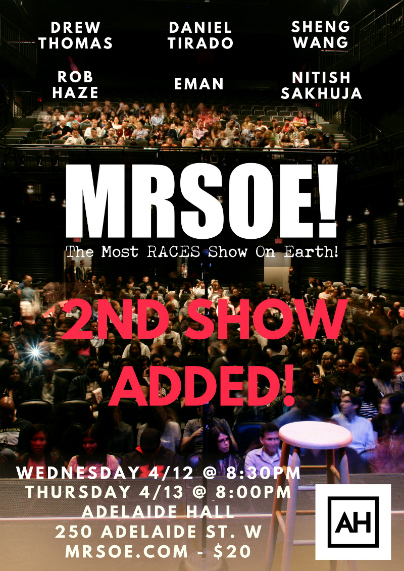 MRSOE! Toronto 2017 Second Show Added!