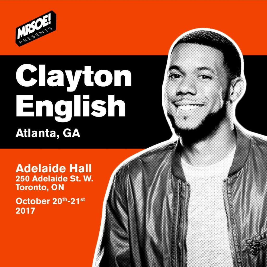MRSOE! Presents... Clayton English