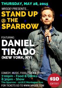 Daniel Tirado @ The Sparrow