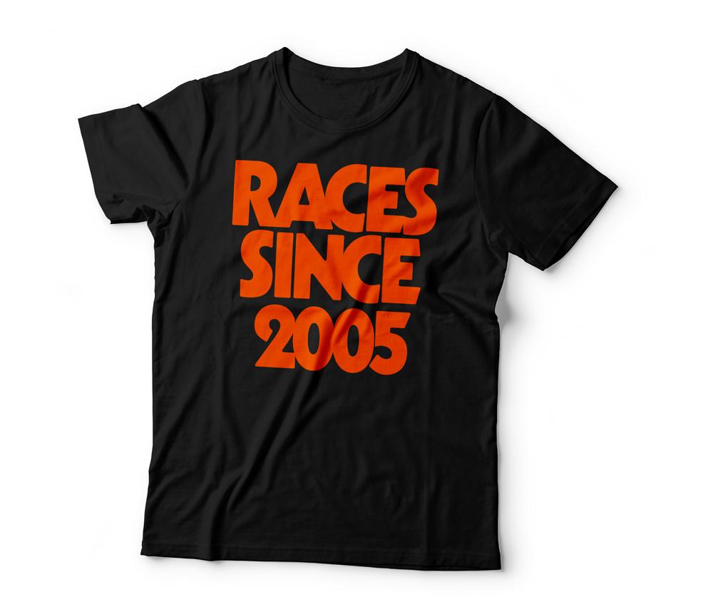 RACES Since 2005 Tee Black